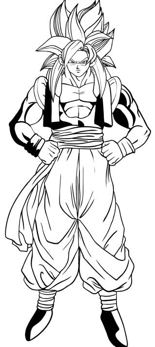 Pagine Da Colorare Stampabili Disegni Da Colorare Dragon Ball Z