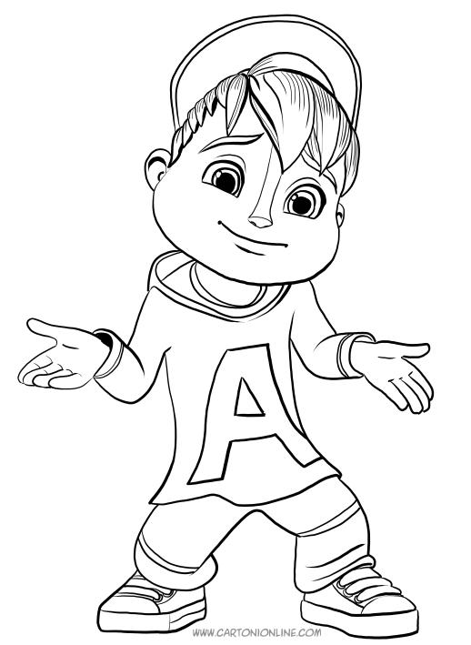 Alvin Und Die Chipmunks Ausmalbilder Zum Drucken - Malvorlagen
