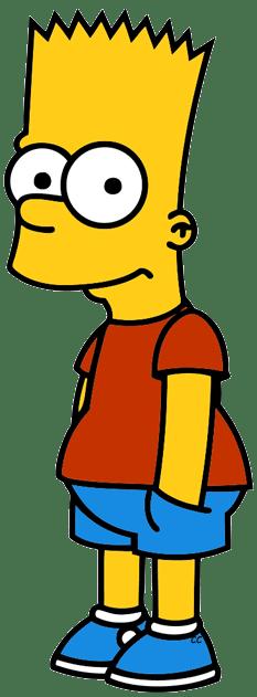 simpsons clip art cartoon
