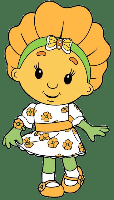 Fifi and the Flowertots Clip Art  Cartoon Clip Art