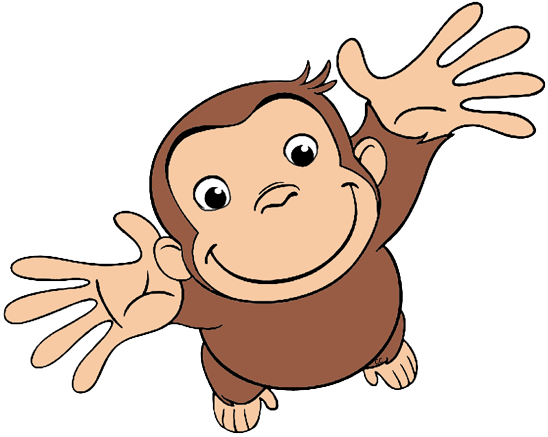 Curious George Characters Clip Art