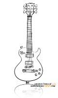 Cartoon Guitars Design and Illustrations