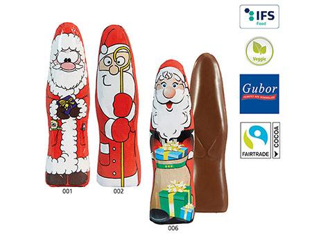 SchokoNikolaus flach standard Werbeartikel