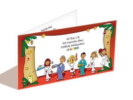 Weihnachtskarte Pflegedienst Krankenhaus Pharma Arzt