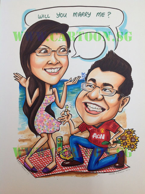 Cartoon SG – Singapore Caricature Artists For Gifts