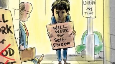 Will Work For Food Unemployment Cartoon Cartoon