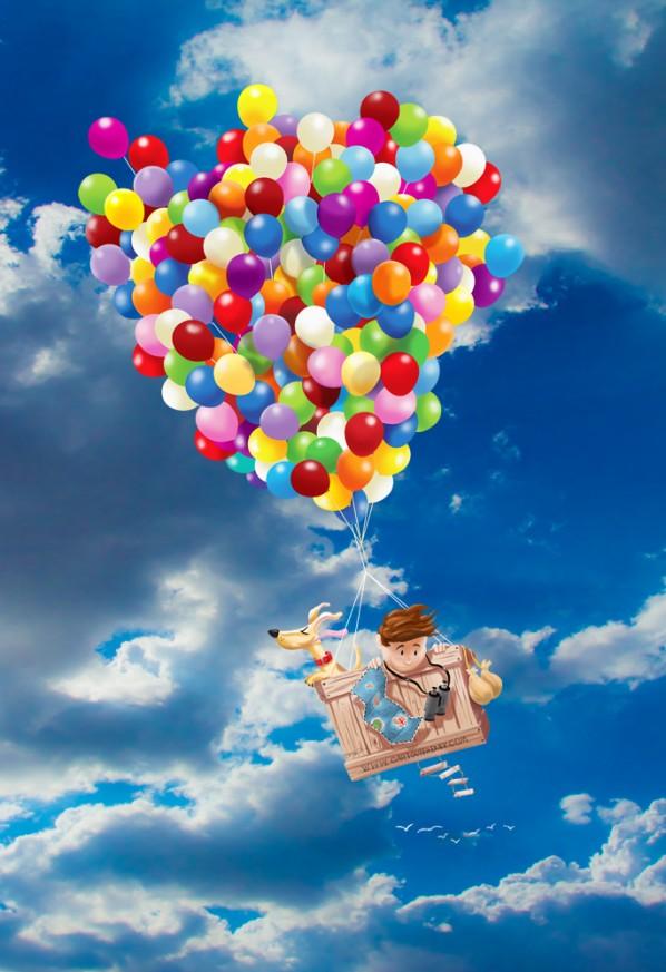 Fall Out New Vegas Wallpaper Balloon Boy And Dog Adventure Time Cartoon