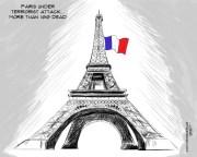 paris cartoon cars modified