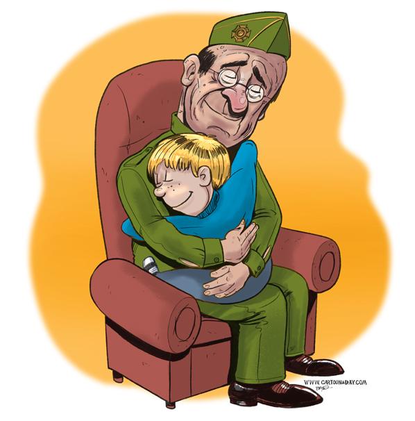 Veterans Day Cartoon Cartoon