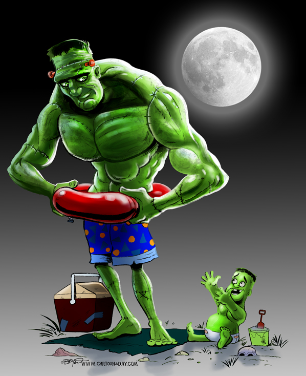Image result for frankenstein as a baby