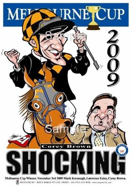 Melbourne Cup 2009 Shocking