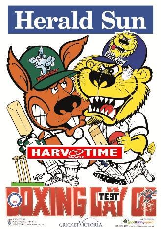 Weg Cricket Boxing Day Poster 2006