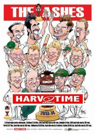 Ashes Series Print 2013-2014
