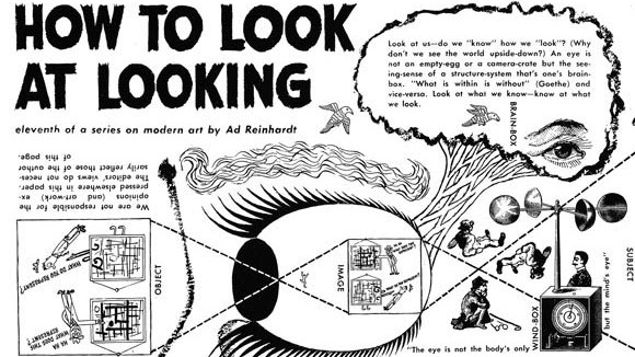 How to Look At Ad Reinhardt, The Cartoonist Who Was A Fine