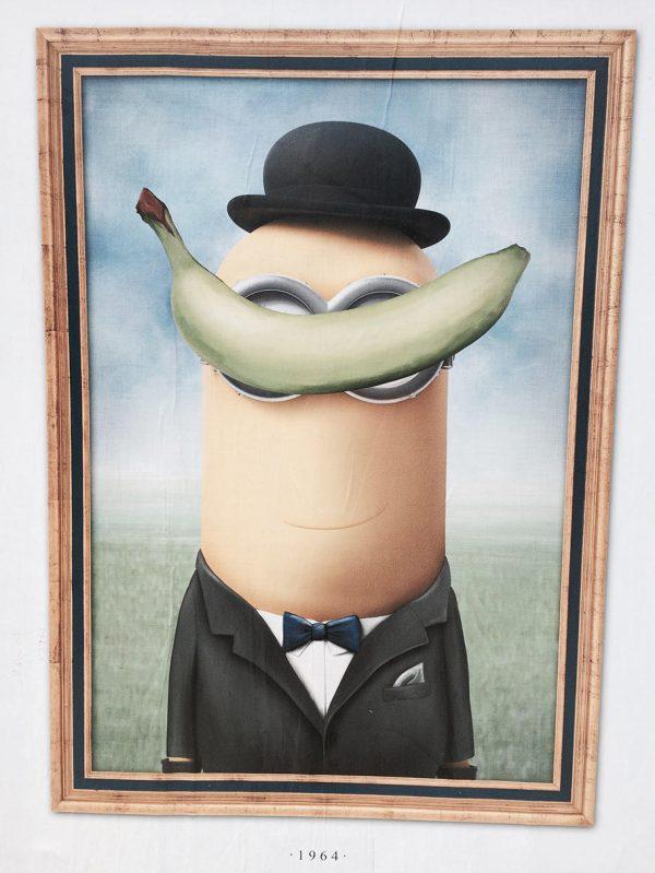Minions Fine Art Makeover Poster