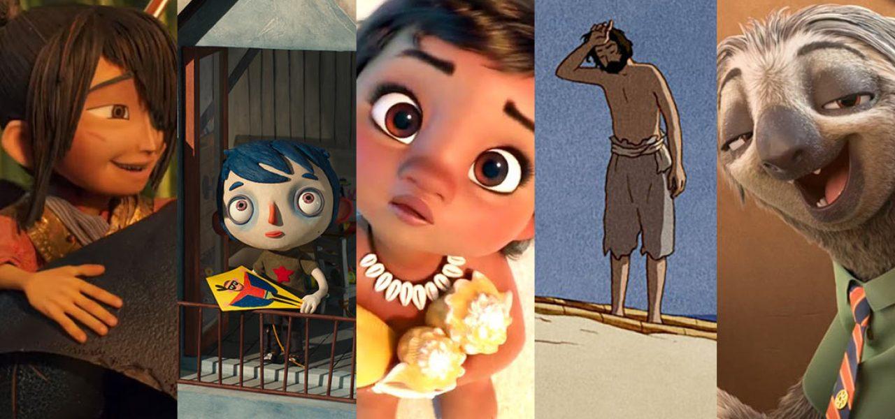 2017 Oscar Nominations Animated Feature Animated Short VFX