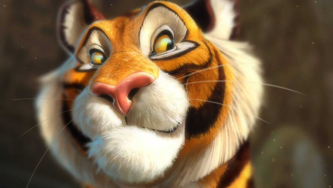 Tiger Cute Drawing Wallpaper Aaron Blaise Reveals The Seven Steps To Great Character Design