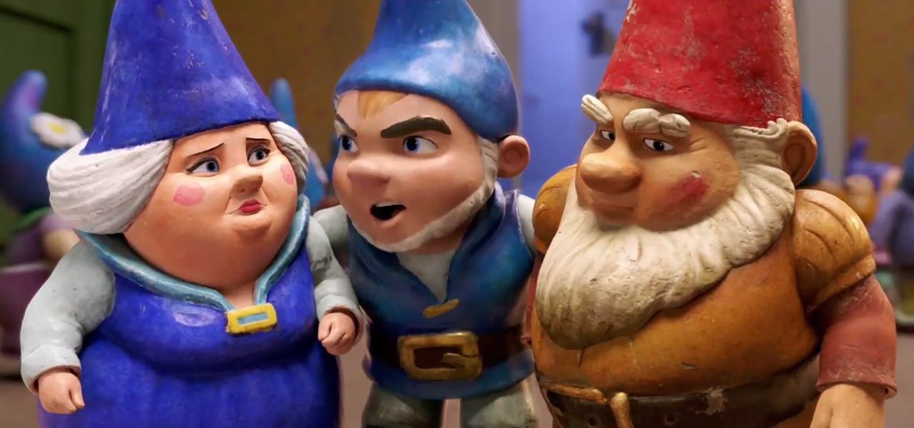 Heres A First Look At Sherlock Gnomes Trailer