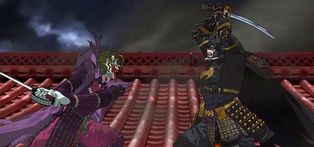 The Joker Animated Wallpaper Batman Is Transported To Feudal Japan In Batman Ninja
