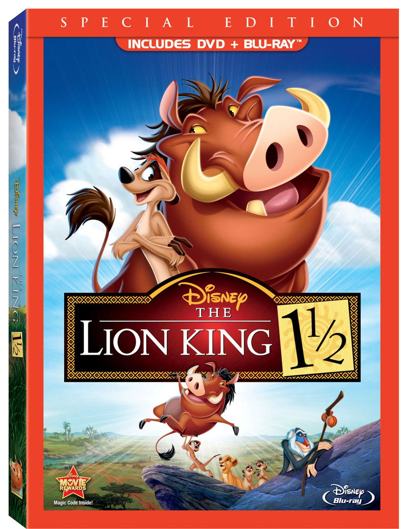 the lion king 1 12 dvd disc 2