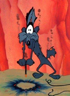 Wile.E Coyote Blown Up