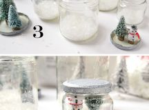 40 DIY Christmas Snow Globe Ideas for Kids