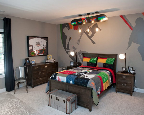 teen boys bedroom decor ideas 45 Creative Teen Boy Bedroom Ideas - Cartoon District