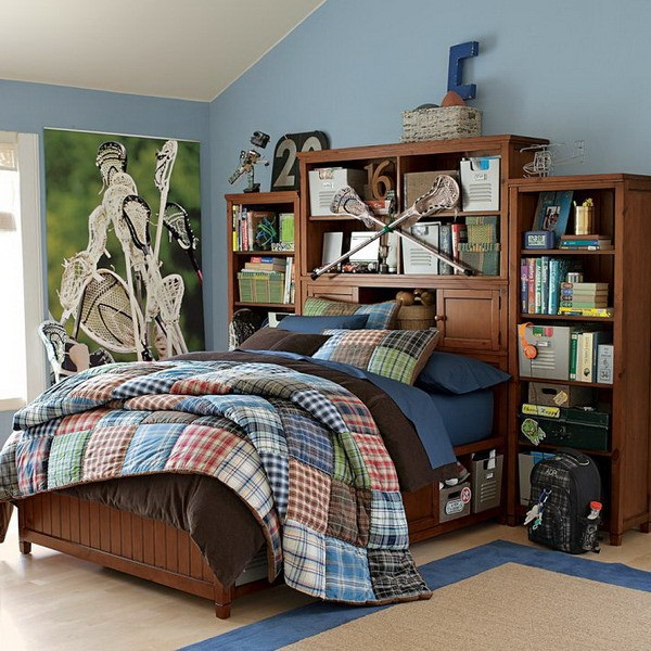 45 Creative Teen Boy Bedroom Ideas  Cartoon District