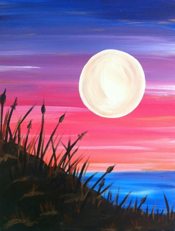110 Easy Acrylic Painting Ideas for Beginners to try