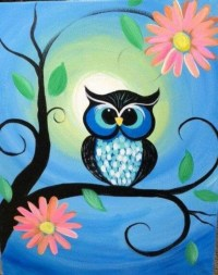 65 Easy Canvas Painting Ideas For Beginners