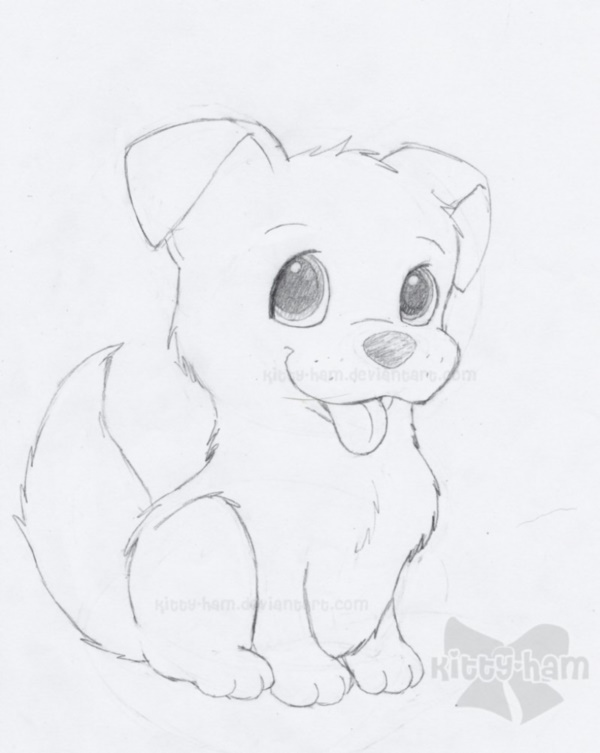 Cute Drawing Of A Puppy 1000 Images About Puppy Drawings