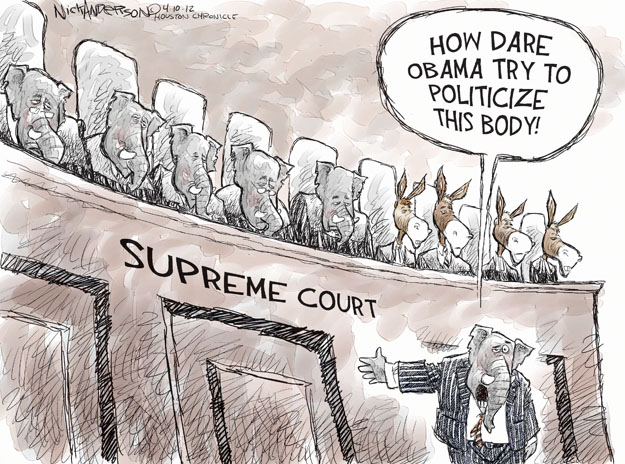 Image result for Supreme court cartoons