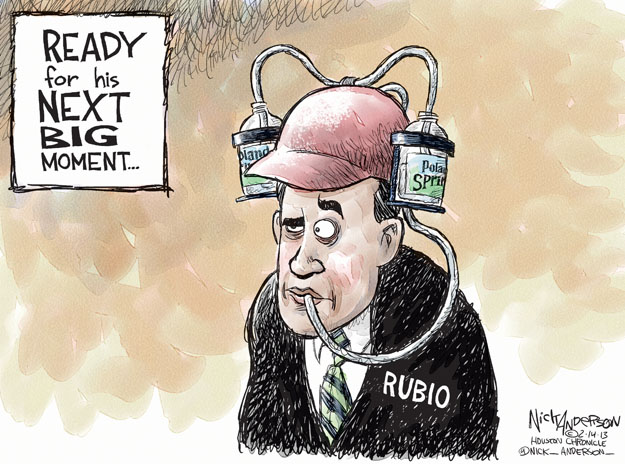 Nick Anderson's Editorial Cartoons 02/14