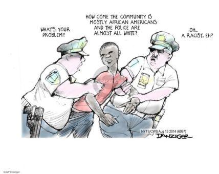 Jeff Danziger's Editorial Cartoons - Discrimination Comics And Cartoons |  The Cartoonist Group