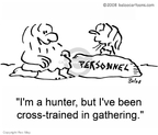 Cross Training Cartoon