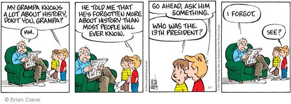 Pickles cartoon strip, for January 7, 2011