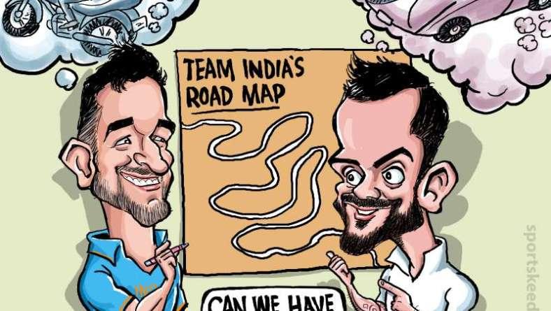 Dhoni-Virat draw Team India's road-map!