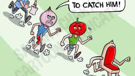 After Tomatoes, Onion Prices Go Up!