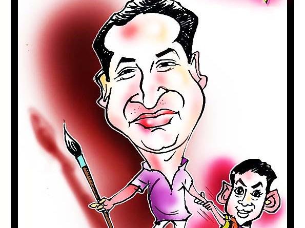 Caricature by Harini