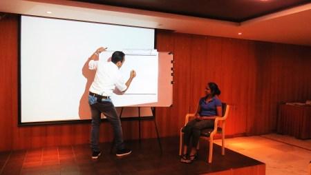 Fun cartoon workshop at Manipal Group