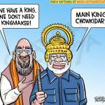 We have a King, don't need Kingmaker-Amit Shah