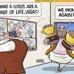 PM Modi consoles Virat Kohli!