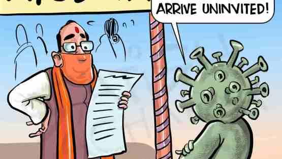 Corona-scare for Ayodhya shilanyaas ceremony!