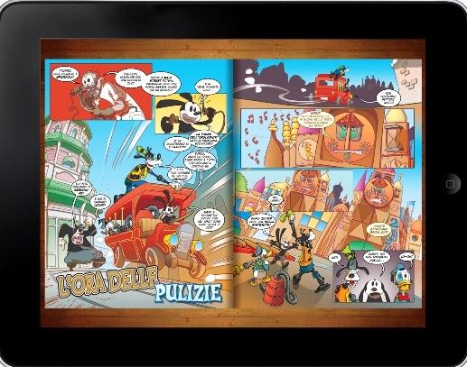 cartoni animati disney su ipad