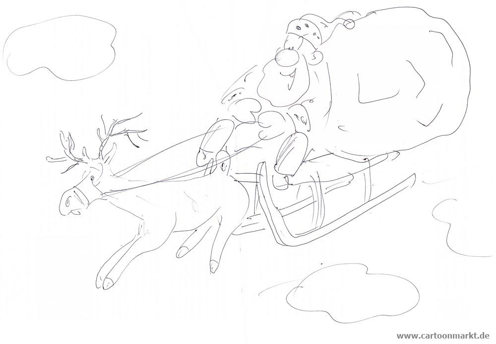 Weihnachtsmann Cartoons im Cartoonmarkt Blog Seite 2