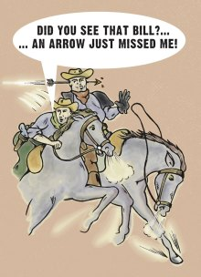 Cowboy cartoon