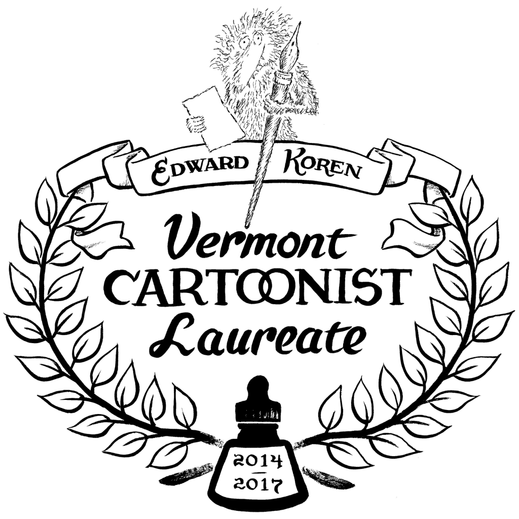 Edward Koren to be Appointed Vermont's Second Cartoonist