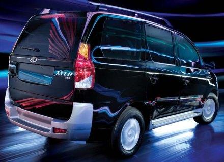 Mahindra Xylo rear photo: Looks best this way?