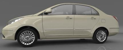 Tata Manza side profile photo