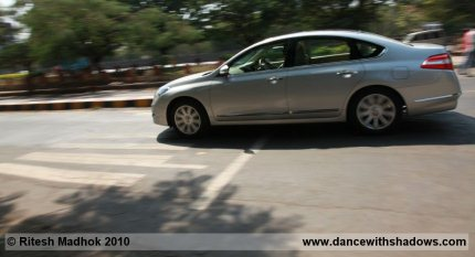 nissan teana road test photo